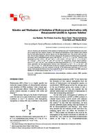 Kinetics and mechanism of oxidation of hydroxyurea derivatives with hexacyanoferrate(III) in aqueous solution