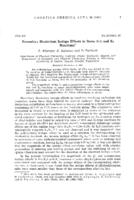 Secondary deuterium isotope effects in some S N1 and E2 reactions