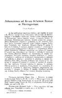 Adnotationes ad floram lichenum Bosnae et Hercegovinae
