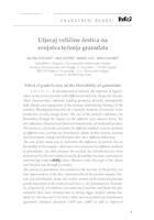 prikaz prve stranice dokumenta Utjecaj veličine čestica na svojstva tečenja granulata