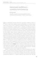 Bakterijski biofllmovi - stanična komunikacija