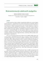 Biotransformacije odabranih analgetika