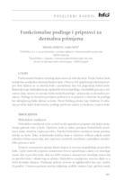 Funkcionalne podloge i pripravci za dermalnu primjenu