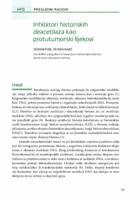 prikaz prve stranice dokumenta lnhibitori histonskih deacetilaza kao protutumorski lijekovi