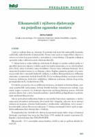 Eikozanoidi i njihovo djelovanje na pojedine organske sustave