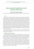 Internacionalni nezaštićeni nazivi farmaceutskih tvari