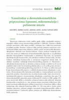 prikaz prve stranice dokumenta Nanočestice u dermatokozmetičkim pripravcima: liposomi, mikroemulzije i polimerne micele