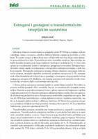 Estrogeni i gestageni u transdermalnim  terapijskim sustavima