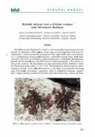 Biološki aktivne tvari u biljnim vrstama  roda Micromeria Bentham
