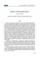 Dopamin i dopaminergički lijekovi
