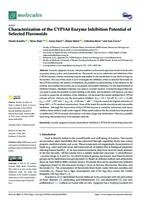 Characterization of the CYP3A4 enzyme inhibition potential of selected flavonoids