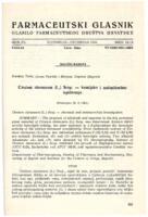 Cirsium oleraceum (L.) Scop. - kemijsko i antimikrobno ispitivanje