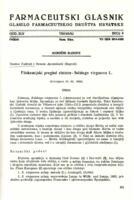Fitokemijski pregled zlatnice - Solidago virgaurea L.