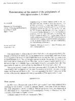 Determination of the content of the polyphenols of Vitex agnus-castus L. f. rosea