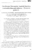 Istraživanje flavonoida, fenolnih kiselina i aminokiselina gole kilavice - Herniaria glabra L.