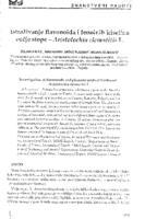 Istraživanje flavonoida i fenolnih kiselina vučje stope - Aristolochia clematitis L.