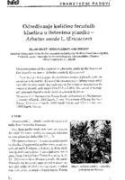 Određivanje količine fenolnih kiselina u listovima planike - Arbutus unedo L. (Ericaceae)