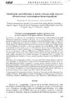 Istraživanje aminokiselina u nekim vrstama roda Alyssum (Brassicaceae) tankoslojnom kromatografijom