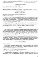prikaz prve stranice dokumenta Kvalitativna i kvantitativna analiza flavonoida listova masline - Olea europaea L.