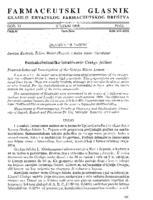 prikaz prve stranice dokumenta Farmakobotaničko istraživanje Ginkgo folium