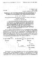prikaz prve stranice dokumenta Reaktionen mit N-(1-Benzotriazolylcarbonyl)-aminosaeuren. I. Synthese von Hydantoinen und Hydantoinsaeure-amiden