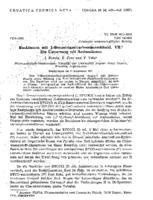 prikaz prve stranice dokumenta Reaktionen mit 1-Benzotriazolcarbonsaeurechlorid. VII. Die Umsetzung mit Aminosaeuren