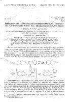 prikaz prve stranice dokumenta Reaktionen mit 1-Benzotriazolcarbonsaeurechlorid. VI. Synthese von 3,1-Benzoxazin-4-onen bzw. Quinazolin-2,4-(1H,3H)-dionen
