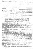 prikaz prve stranice dokumenta Reaktionen mit 1-Benzotriazolcarbonsaeurechlorid. IV. Synthese von substituierten Harnstoffen, Semicarbaziden und Carbaziden