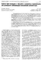 prikaz prve stranice dokumenta Polimer-lijek konjugati. I. Općenito o sustavima s kontroliranim i/ili produljenim oslobađanjem farmakološki aktivnih tvari