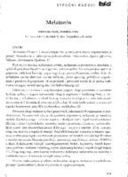 prikaz prve stranice dokumenta Melatonin